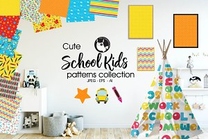 SCHOOL KIDS Pattern collection