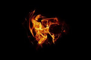 Fire Overlay 011