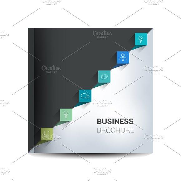Brochure, template, infographics