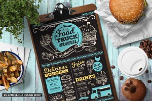 FREE! Trifold + Food Truck Menu