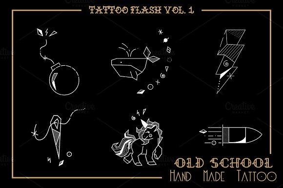 Tattoo Flash Vol 1 in Illustrations