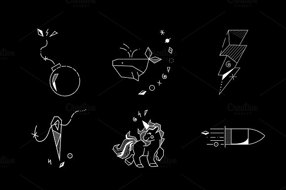 Tattoo Flash Vol 1 in Illustrations - product preview 1