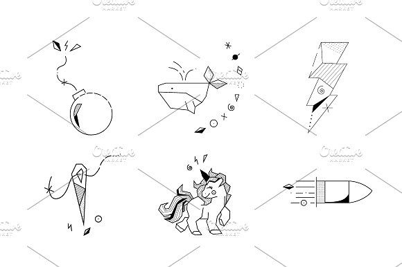Tattoo Flash Vol 1 in Illustrations - product preview 2