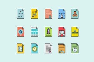 15 Design Workflow Icons