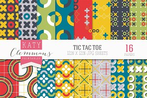 Tic Tac Toe paper pack