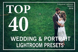 TOP 40 Wedding Lightroom Presets.
