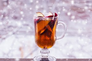 Hot punch apple cider