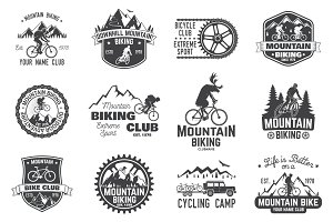 Mountain biking collection