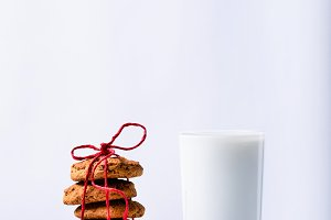 Oatmeal Christmas cookies