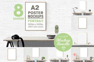 poster frame mockup A2 / 50x70cm