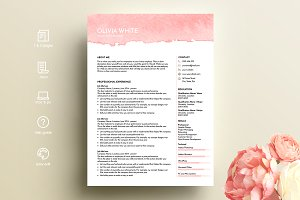 creative resume template ms word