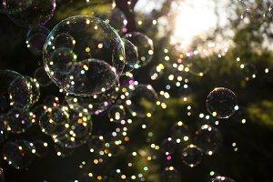 Bokeh Bubbles