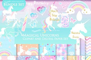 Magical Unicorns, Einhorn, White