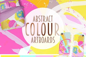 Abstract Colour Artboard
