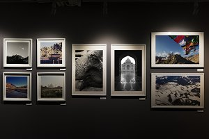 Art and photo exhibition