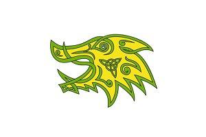Boar Head Celtic Knot