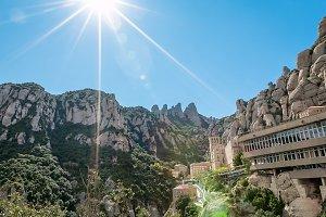 Barcelona, Spain Montserrat Monastery