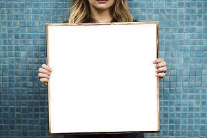 Picture frame mockup(PNG)