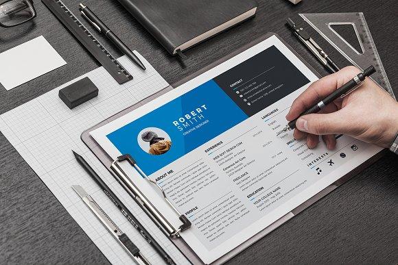 Landscape Resume ~ Resume Templates ~ Creative Market
