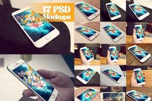 17 PSD Mockups