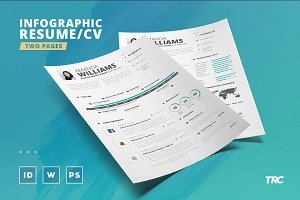 Infographic Resume/Cv Template Vol.5