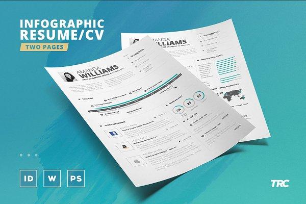 Infographic Resume/Cv Template Vol…