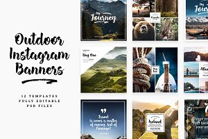 Outdoor Instagram Templates