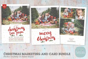AC097 Christmas Card and Marketing