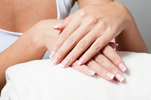 Unsurpassed French manicure