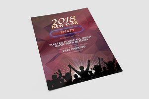 New Year Party Flyer V674