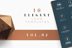 10 Elegant Logo Templates Vol.02