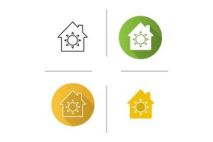 House eco electrification icon