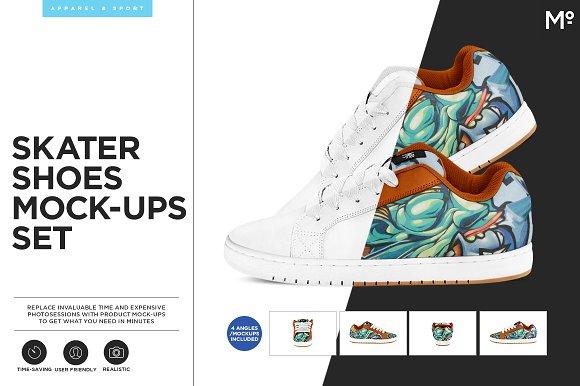 Download Skater Shoes Mock-ups Set