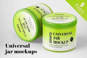Universal Jar Mockups