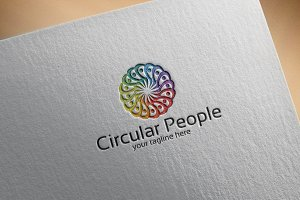 Circular People – Logo Template