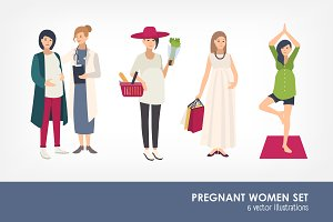 Pregnant women's set