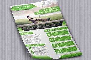 Corporate Flyer Template Vol 02