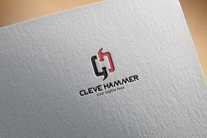 cleve hammer – Logo Template
