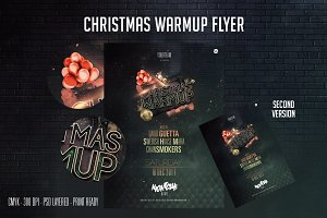 Christmas Warm Up Flyer
