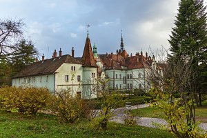 The castle of Count Schonborn