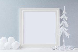 Winter Frame Mockup