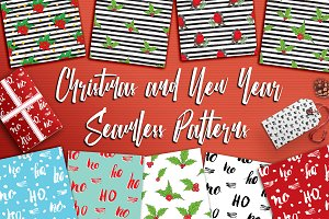 Christmas and New Year Patterns