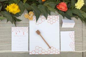 Thanksgiving/Fall Honeycomb Designs