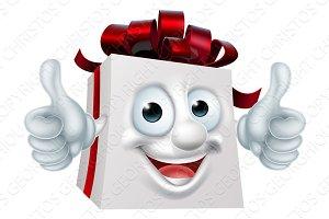 Gift Present Cartoon Character
