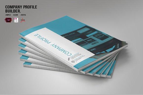 Company Profile Portfolio-Graphicriver中文最全的素材分享平台