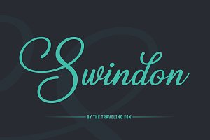 Swindon Handwritten Font