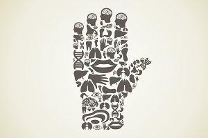 Hand body