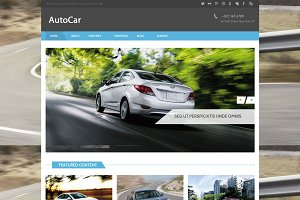 Autocar - Bootstrap HTML Template