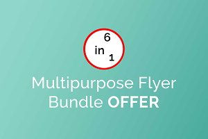 Multipurpose Flyer Bundle Offer
