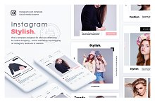 Stylish & Fashion Instagram template